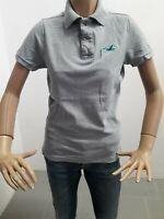 Polo HOLLISTER Donna T-shirt Woman Chemise Femme Taglia Size S Cotone 8398