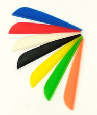 700 Pk 3 inch Plastic Arrow Vane Tpu Fletchings for Diy Arrow Archery Bow