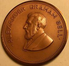Canada - Alexander Graham Bell Homestead, Brantford, Canada - 39mm Bronze Medal