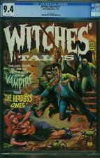 WITCHES TALES VOL 6 # 1 CGC 9.4 WHITE P  HIGHEST GRADED EERIE PUB HORROR 1973