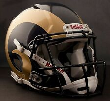 **GAMEDAY-AUTHENTICATED** St. Louis Rams NFL Riddell Speed Football Helmet