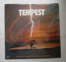 Tempest Soundtrack Stomu Yamashta LP Sealed