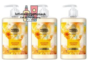 Imperial Leather COTTON CLOUDS Hand Wash Honey & Shea Butter 300ML - 3 Pack