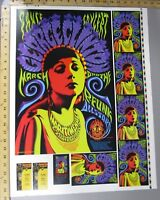 1996 Rock Concert Poster Herald Proof Sheet Phillips George Clinton Maritime
