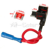 12V Car Fuse Add-a-circuit Micro ATM APM Auto 10A Blade Fuse Holder TAP Adapter