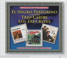 Negro Peregrino y Su Trio Los Tres Reyes CD NEW Tesoros De Coleccion SET SEALED