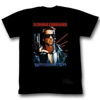 The Terminator Arnold Schwarzenegger Movie Poster Licensed Adult T Shirt