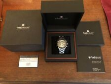 Tag Heuer Carrera Chronograph Automatic Calibre 16 41mm Black Dial CV2010 AS IS
