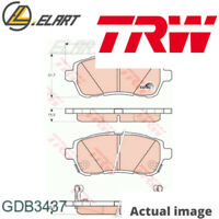 DISC BRAKE PADS SET  FOR SUZUKI MAZDA SWIFT IV FZ NZ K12B D13A M16A 2 DE TRW