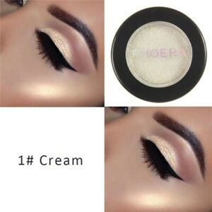 Waterproof Glitter Eye Shadow Pigment Lasting Non-smudged Easy To Color Big Eyes