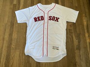 Dana Levangie Team Issued Boston Red Sox White Home Jersey MLB Authenticated