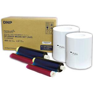 "DNP DS620 Dye Sub Media Kit, 800 4""x 6"" Prints for DS620A Printer, DS6204X6"