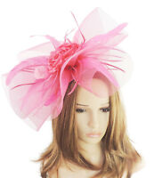 Fuchsia Pink Fascinator for Ascot, Weddings, Proms, Derby, Formal Events C7