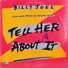 Billy Joel Authentic Signed Tell Her About It Album Cover W/ Vinyl BAS #D05711