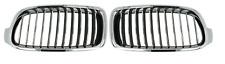 BMW 3 F30/35/80 (11-) 2x PARRILLA / RIÑON Delantero Izquierda+Derecha Cromo !