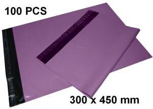 Lot de sacs pochettes enveloppes plastiques  300 x 450 mm