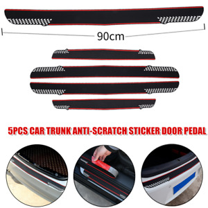 Car Trunk Sticker Car Door Pedal Threshold Protection Guards Anti-Scratch Strips