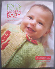 Knits for Modern Baby newborn to 24 months patterns sweater booties