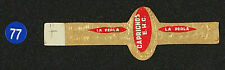 77Az-MEXICO Vitola Antigua-Old Cigar Band-Marca LA PERLA, CAPRICHOS, E.H.C.