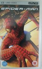 Spider-Man UMD for PSP, certificate 12. Full length Movie - DVD picture quality.