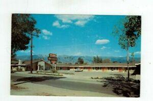 CA Santa Barbara California vintage post card - Tides Motel