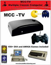 MCC-TV, AMIGA, C64, ATARI2600, ZX Spectrum with more than 600 games !