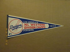 MLB Los Angeles Dodgers Vintage 1983 Western Division Champs Baseball Pennant