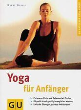 Yoga für Anfänger. GU Ratgeber Gesundheit von Waess...   Buch   Zustand sehr gut