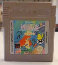 Gioco Game Cartuccia Nintendo GameBoy THE LITTLE MERMAID LA SIRENETTA - Capcom -