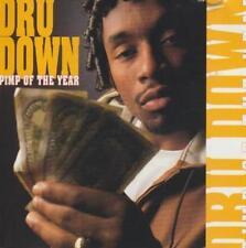Dru Down: Pimp Of The Year & Mack Of The Year PROMO w/ Artwork MUSIC AUDIO CD