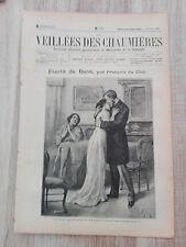 Journal illustré 1909  - Veillées des Chaumières - 03 Juillet - Fierté de Race..