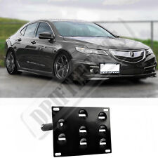 Rev9 For 15-Up Acura TLX Front Tow Hook License Plate Relocator Mount Bracket