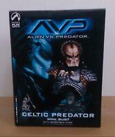 AVP Celtic Predator Mini Bust By Palisades **BNIB**