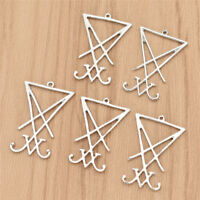 5pcs//lot Lucifer/'s Sigil charm Seal of Satan Choker Satanic Symbol Charm 25mm