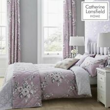 Catherine Lansfield,Canterbury Heather Floral Duvet Cover Sets,Bedding Sets.