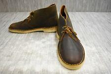 Clarks Desert Beewax Boot, Men's Size 9.5 M, Brown