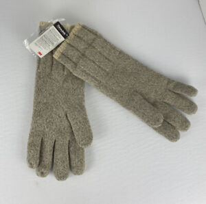 New CABELA'S Men's Wool Gloves Large 3M Thinsulate Insulated Hand Liners 920109