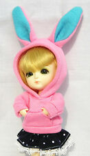 Lati Yellow Doll Outfit Pink Tee Hoody