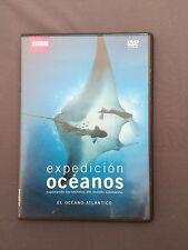 DVD BBC EXPEDICIÓN OCÉANOS  EL OCÉANO ATLÁNTICO los secretos del mundo submarino