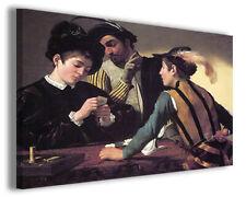 Quadri famosi Caravaggio XVIII stampe riproduzioni su tela copia falso d'autore