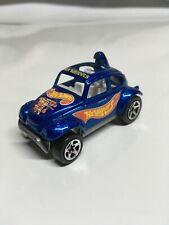 Hot Wheels VW Baja Bug 1983 Blue Made in Malaysia