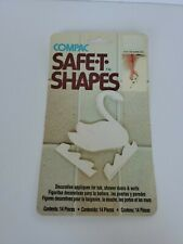Shower Swan Anti Slip Bathtub Stickers Safety Safe-T-Shapes White *SEALED*