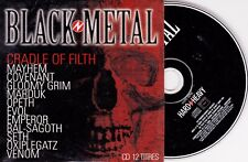 CD CARDSLEEVE COLLECTOR 12T BLACK METAL SETH/CRADLE OF FILTH/OPETH/VENOM/MAYHEM