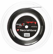 Tecnifibre Black Code 4S 17 / 1.25mm Tennis String 200m Reel - Black