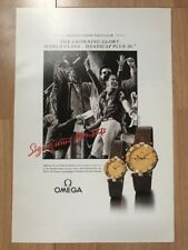 Omega Constellation 1990 Advertisement Pub Ad Werbung
