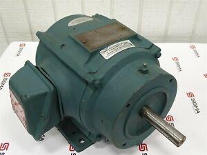 G.I. Electric Company Motor P18G5252C RC, 182T, 1HP, 1165RPM, 230/460V, 3.5/1...