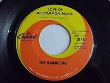 The Rainbows Love Of The Common People / Broken Heart 45 1968 Vinyl Record