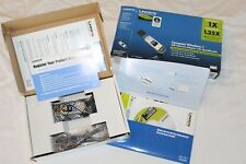 Linksys Compact Wireless -G USB Adapter New In Box WUSB54GC