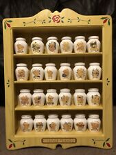 Forever Friends Spice Jar Collectibles And Shelf Display Cabinet Limited Edition