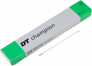 DT Swiss Champion Spoke: 2.0mm, 292mm, J-bend, Silver, Box of 100